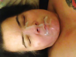 Titfuck and Facial