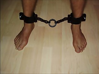 Slave in chains