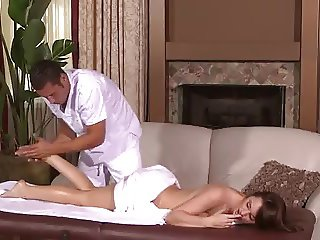 First Massage and then Fuck