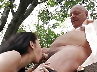 Horny Old Men Seduce Pregnant Neighbours Wife