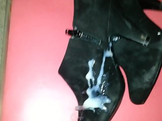 Cumming New Look Black Suede Ankle Boots 5