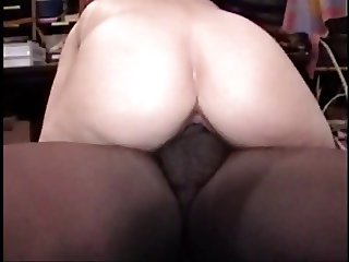 Fat bitch and bisexual friend ride cock