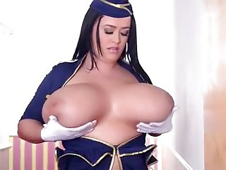 Leanne Crow Huge Natural Tits Sexy Tight Outfit