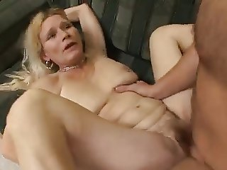 Mature woman and young man - 54