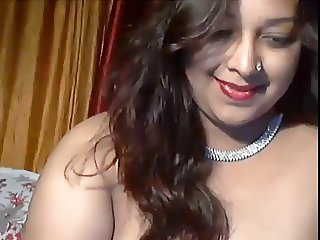 Indian Canadian Hot Cam Girl Pathan Teasing