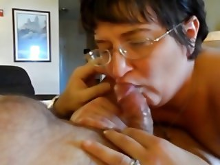granny doesn't like cum