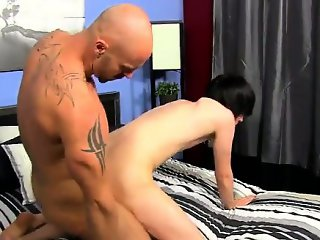 Gay XXX The twink embarks to fumble with his man-meat in his