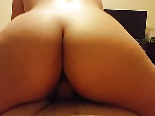 my latina pussy riding that dick