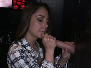 Hardcore Remy LaCroix in a glory hole
