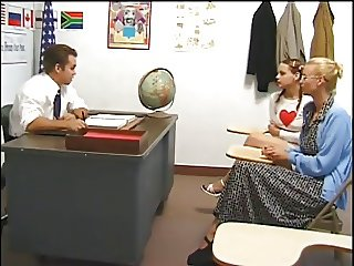 Taking Her Punishment !