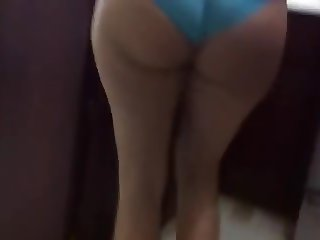 Some guys Latina wife in panties