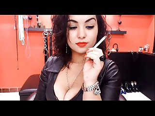 Sexy Dom Smoking On Cam (no sound)