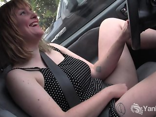 Excited Joan Masturbating Her Pussy