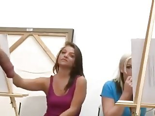 Art class cant concentrate because cock - 2 part 8