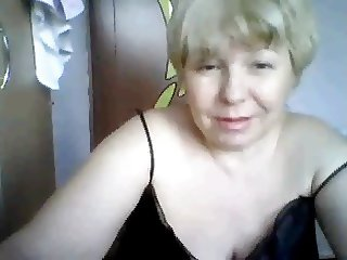 russian mature with hudge tits on cam part 1