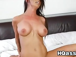 Busty Babe Loves It Rough