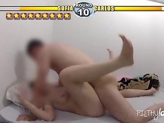 Sext Fighter Parody - She cums 10 times