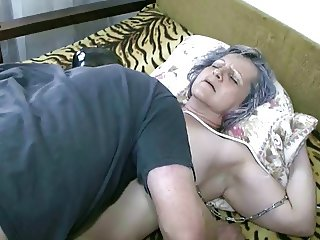Licking Grannie's Pussy (Video 1)