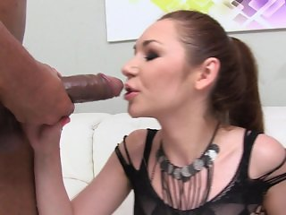 Double pissing in her mouth