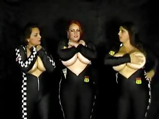 Mellie D, Redd Adaire And Kerry Marie