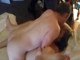 Bull Cums In Wife Bareback