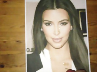 Kim Kardashian Face Tribute