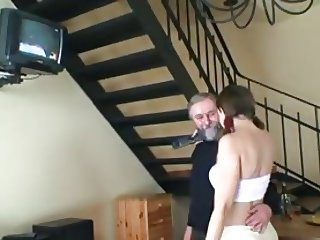 young russian fucked by elderly guy