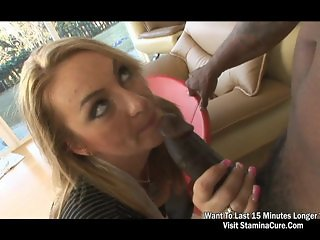 Totally hot blonde anal star Aline