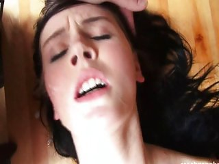 Girl gets a big gangbang in her favor