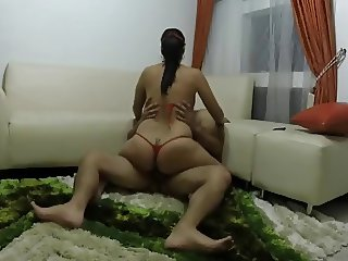 Latina riding dick
