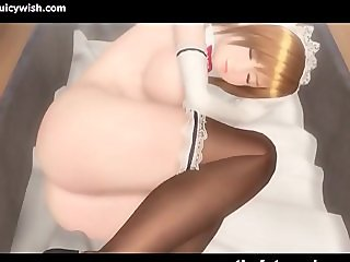 Animated trans enjoys tight cunt