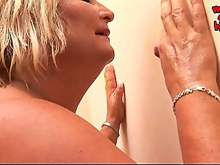 Mature Glory Hole Jerking Compilation Part2