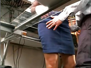 Sexy office milf
