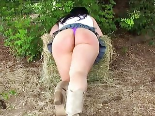 punishment has the ass in the woods sweet ass
