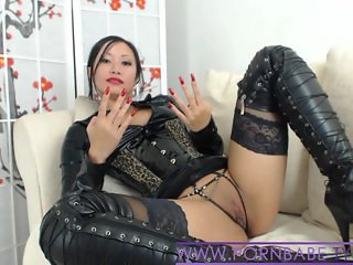 Asian PornbabeTyra Gives You Nasty Domination