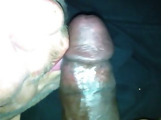 BBW Makes love to BBC with her mouth