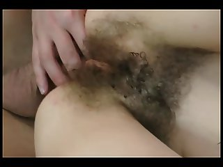 Girl with lingerie gets her jungle and ass pounded