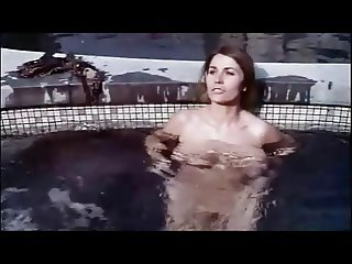 Big boobs solo in the pool