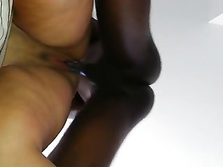 chubby enjoys 10inch bbc doggy syle 9