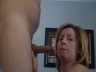 Older Mom Blowjob