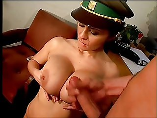 Police woman fucked doggie style