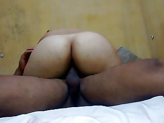 bbw mother riding and I blow my load inside her
