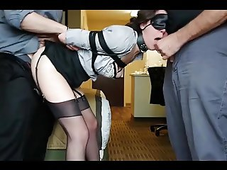 tied whore used