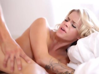 Deep in Jessa Rhodes hot little pussy