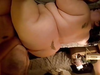 bi interracial ssbbw with gay cum swallowing