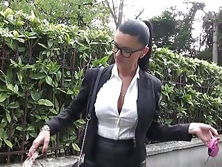 Beautiful Milf Ania fucked in stockings