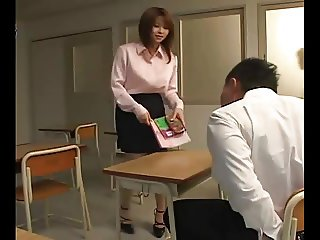 Yui Asahina - Sexy Japanese Teacher