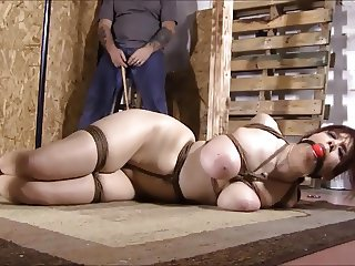 Hogtied and Clamped