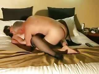 Older couple sex play