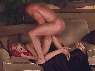 Petite girl likes suck and sex in ass